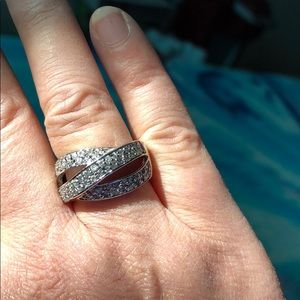 💍💍💍STERLING AND CZ RING💍💍💍